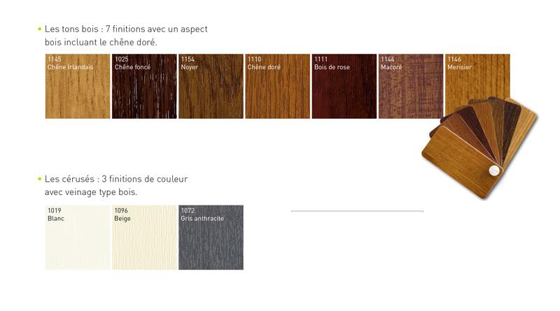M menuiserie menuiseries pvc couleur for Pvc couleur bois