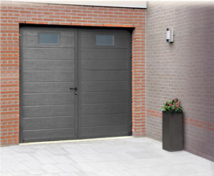 M menuiserie portes de garage battantes for Dimension portillon standard